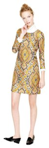 J.Crew Paisley Silk Dress