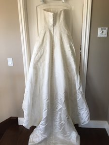 Pronovias This Is A Whiteone Dress Which Is Made By Pronovias Out Of Spain. Wedding Dress