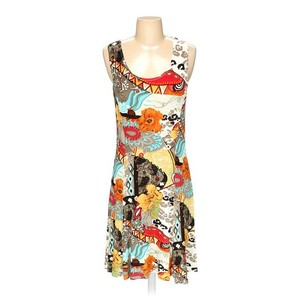 Chico's short dress Multi Abstract Print on Tradesy