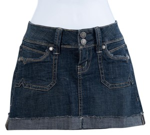 Hydraulic Nwot Mini Skirt Denim