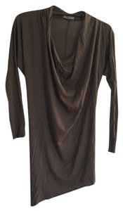 Helmut Lang short dress camel (brown / beige) Night Out Date Night on Tradesy