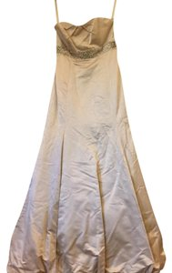 Watters Off White Bride Wedding Dress Size 10 (M)