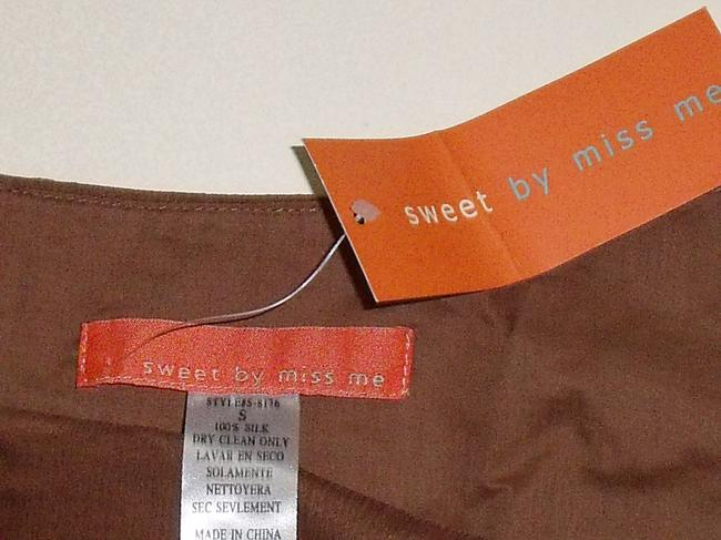 Sweet by Miss Me Mini Skirt brown