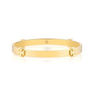 Tory Burch Logo Bangle in Gold