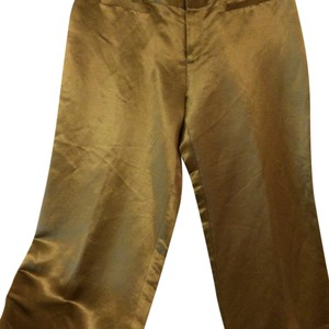 Kenneth Cole Capri/Cropped Pants Gold