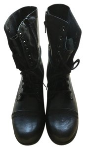 Steve Madden Troopa Black Boots