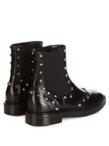 Balenciaga Womans Studded BLACK Boots
