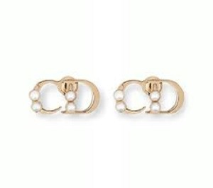 Dior DIOR Initials Stud Earrings