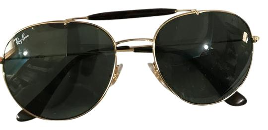 41772e9de4 Ray-ban Classic Round Sunglasses - Gold green