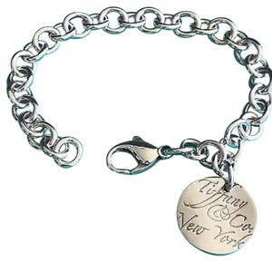 Tiffany & Co. NWOT Notes Circle Charm Bracelet