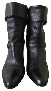Cole Haan Black Nappa Boots