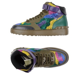 Valentino blue pink yellow green multi Athletic