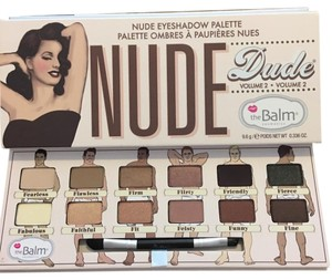 The Balm the balm nude'dude palette