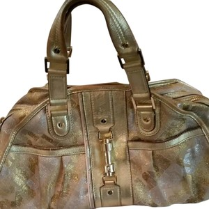 L.A.M.B. Satchel in Gold