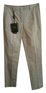 Dolce&Gabbana Dolce & Gabbana Size 40 Gray Trouser Khaki/Chino Pants Light Grey