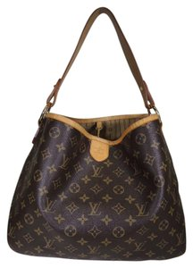 Louis Vuitton Lv Monogram Delightful Pm Canvas Hobo Bag