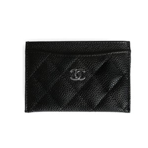 Chanel ($50 off) New Classic Grained Leather Card Case