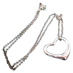 Tiffany & Co. [authentic]TIFFANY&CO. Silver 925 Elsa Peretti Open Heart Pendant