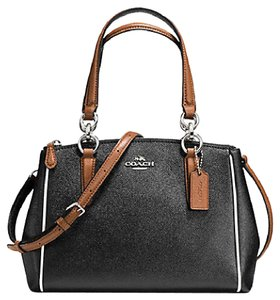 Coach Christie Carryall 37762 Satchel in SILVER/BLACK MULTI