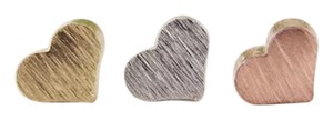 Other Sweet Heart Love Stud Earrings (silver)