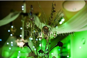12ct Green Fairy Berry Wireless Waterproof Lights