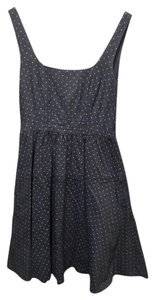 Marc by Marc Jacobs short dress Gray Date Night Night Out Party Cotton Polka Dot on Tradesy