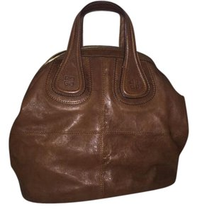 Givenchy Nightingale Medium Satchel in Brown