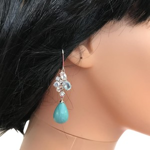 Ross-Simons Turq Drop Earrings