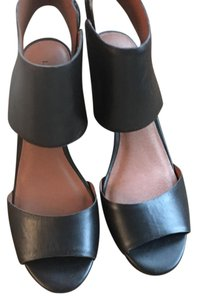 Lucky Brand black Wedges