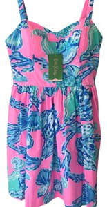 Lilly Pulitzer short dress multicolored on Tradesy