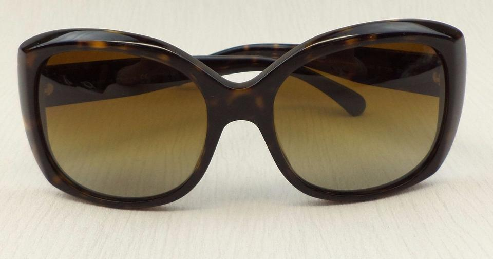 d19bbc935248 Chanel CHANEL 5183 Tortoise Over-sized Butterfly Polarized Sunglasses