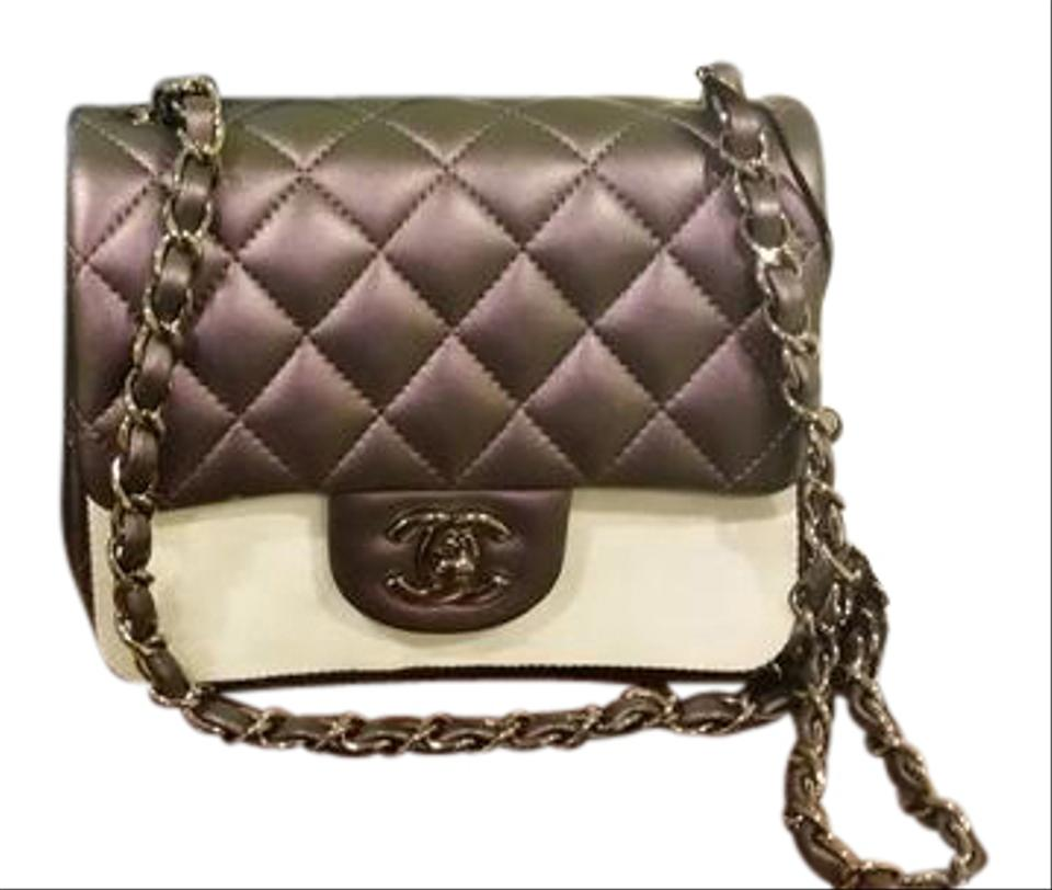 fa8832147bbf8f Chanel Iridescent Lambskin Iridescent Square Mini 2017 Quilted Shoulder Bag  Image 0 ...
