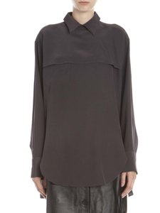 Acne Studios Acne Jeans Shirt Silk New With Tags Top Black