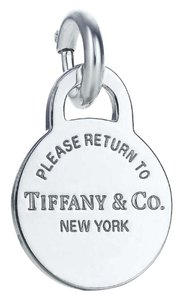 Tiffany & Co. T&Co retired round tag charm