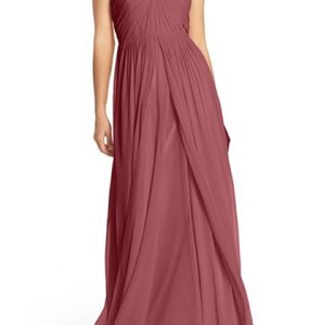 Jenny Yoo Cinnamon Rose Mira Convertible Strapless Bridesmaids Gown Dress