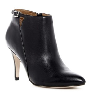 Corso Como Pointed Toe Leather Suede BLACK SILK NAPPA Boots