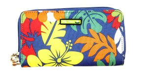 Lily Bloom Tiki Bar Zip-Around Wallet with Detachable Mirror