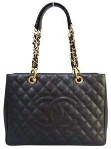 Chanel Grand Shopping Tote Caviar Gst Shoulder Bag