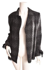 Chanel Boucle Black/Gray Jacket