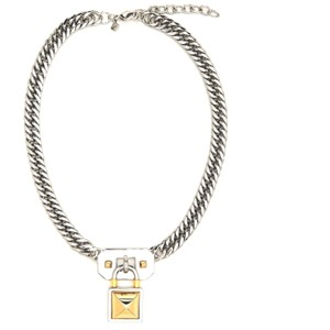 Rebecca Minkoff Locked Charm Chain Necklace