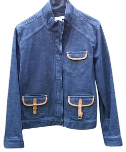 Charter Club blue Womens Jean Jacket