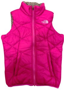 The North Face Girls Reversible Pink Vest