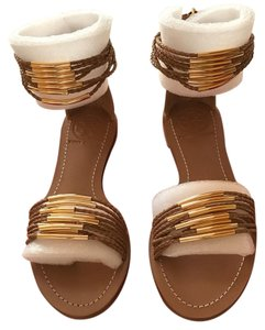 Tory Burch Blond Flats