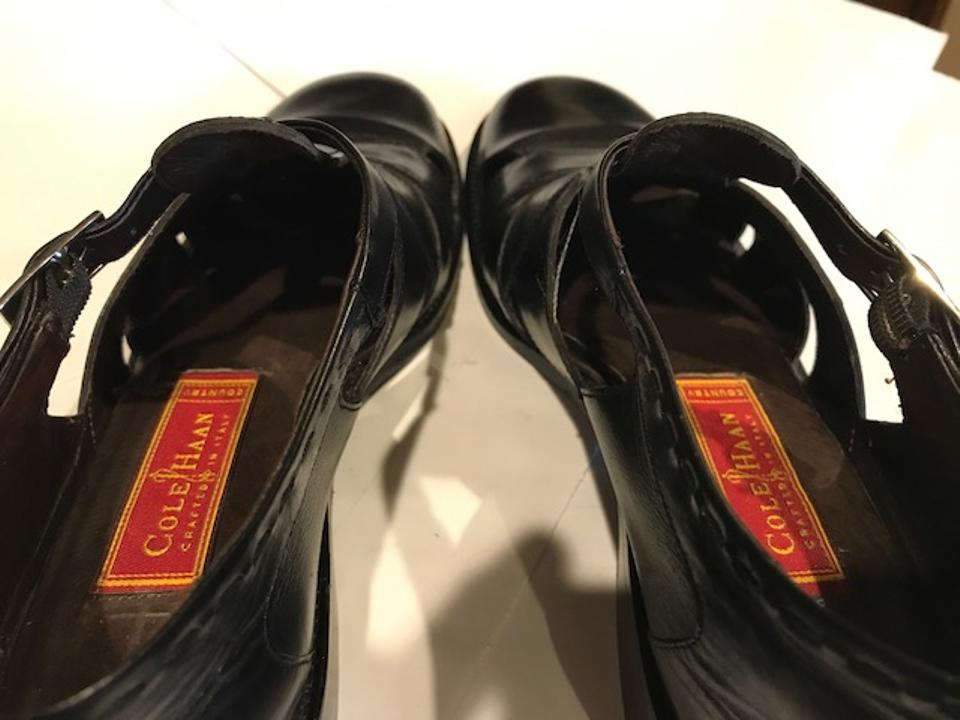 06e04a789e0 Cole Haan Women s Size 7aa Leather Black Sandals Image 11. 123456789101112