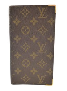 Louis Vuitton Authentic Vintage Monogram Canvas Long Wallet