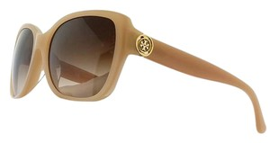 Tory Burch TY7086A-128213 Women Pink Frame Blush Smoke Lens Sunglasses