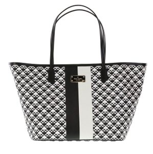 Kate Spade Tote in Black/white