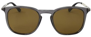 Gucci Gucci Grey and Silver Sunglasses GG1130