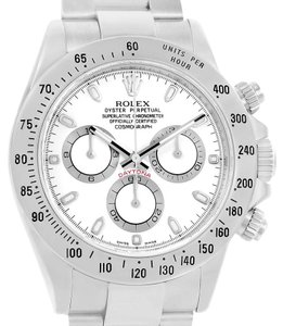 Rolex Rolex Cosmograph Daytona White Dial Chronograph Steel Watch 116520
