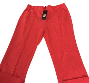 BCBGMAXAZRIA Trouser Pants Red Orange